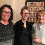 Kathy, Laurie, Peggy